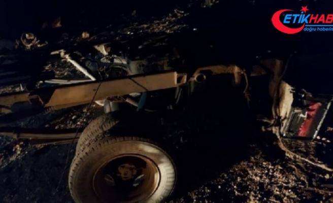 Resulayn'da bomba yüklü araç patladı: 1 ölü, 2 yaralı