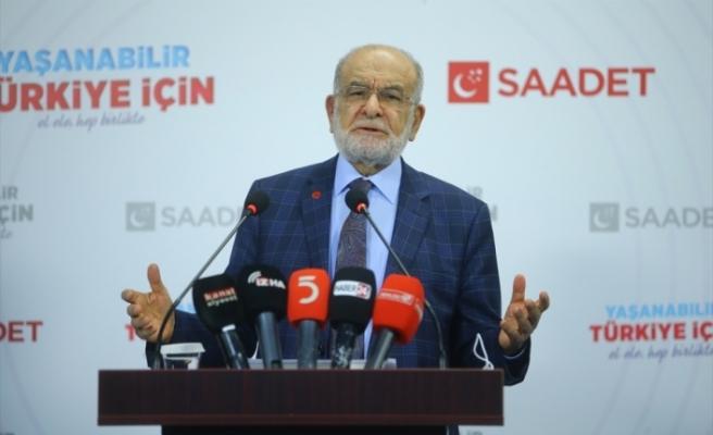 Saadet Partisi Genel Başkanı Karamollaoğlu, gündemi değerlendirdi: