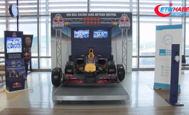 Sabiha Gökçen Havalimanı'nda yolculara Formula 1 sürprizi