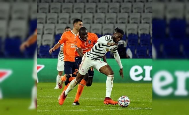 Şampiyonlar Ligi'ndeki temsilcimiz Başakşehir, Manchester United'ı 2-1 yendi