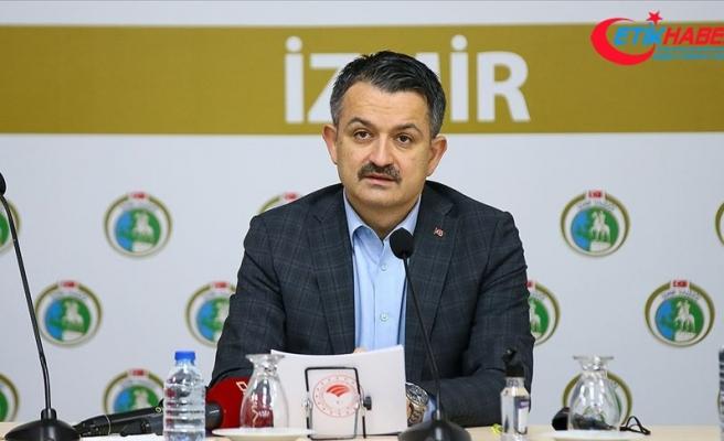 Tarım ve Orman Bakanı Pakdemirli: İzmir'deki depremden etkilenenlere 60 milyon liranın üzerinde ödeme yapıldı