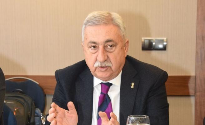"""TESK Genel Başkanı Palandöken: """"Cezalar esnafın ayakta kalmasına imkân vermiyor"""""""