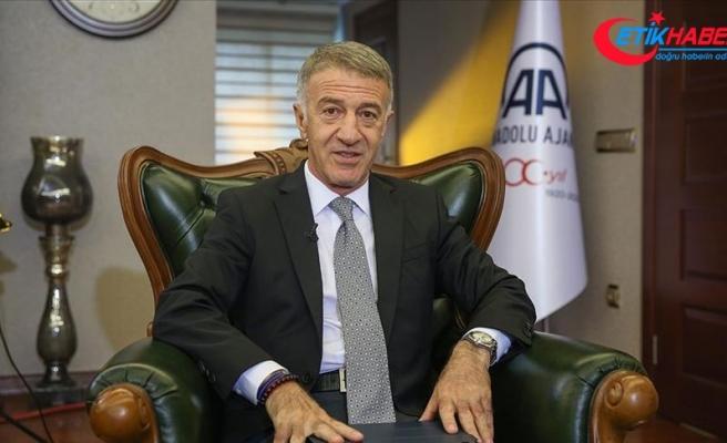 Trabzonspor Kulübü Başkanı Ahmet Ağaoğlu: Sörloth'ta ilk hak Trabzonspor'undur