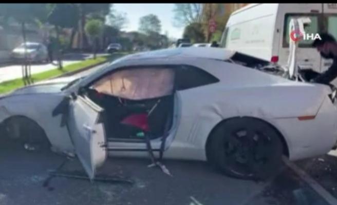 Ünlü youtuber feci kazada ölümden döndü