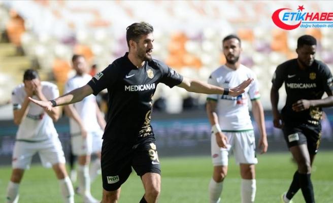 Yeni Malatyapor evinde 3 puana 2 golle uzandı