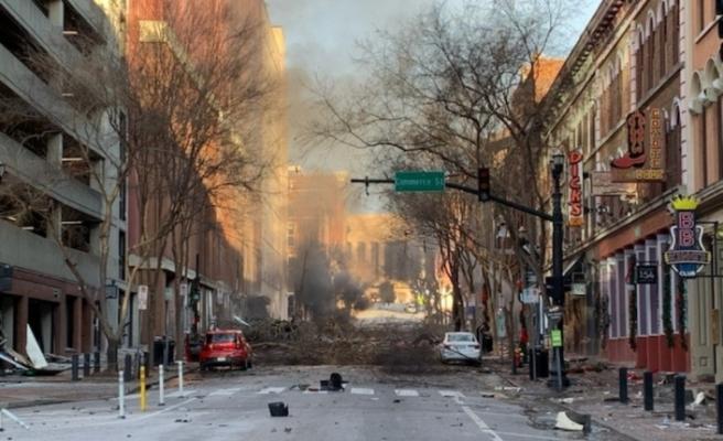 ABD'nin Nashville kentindeki şiddetli patlamada bilanço belli oluyor: 3 yaralı