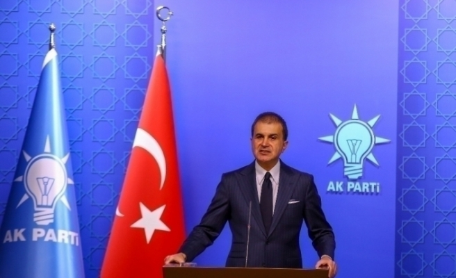 """AK Parti Sözcüsü Çelik: """"ABD'nin yaptırım kararını reddediyoruz"""""""
