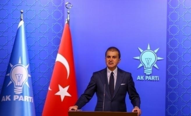 """AK Parti Sözcüsü Ömer Çelik: """"Kimse ibadet diliyle oynamaya kalkmasın"""""""