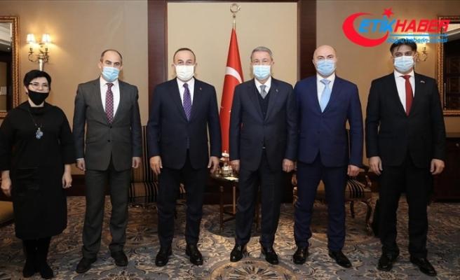 Akar ve Çavuşoğlu, Ahıska ve Gagauz Türkleri ile bir araya geldi