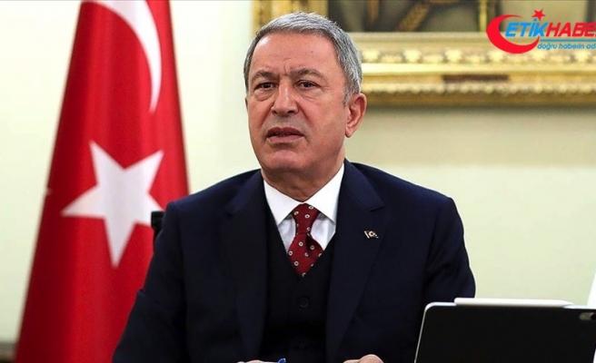 Akar: Türk unsurlarına yapılacak herhangi bir saldırı girişiminde katil Hafter unsurları meşru hedef olarak görülecektir