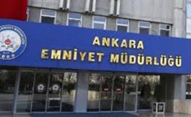 Ankara Emniyet Müdürlüğü geçtiğimiz iki gün içinde yaptığı operasyonları açıkladı