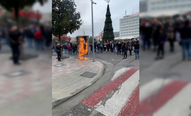 Arnavutluk Başbakanı Rama'nın partisinin İşkodra'daki ofisine saldırı