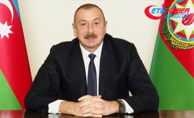 Azerbaycan Cumhurbaşkanı Aliyev: Bugün Erdoğan'ın Türkiye'si dünyaya bağımsızlık ve cesaret örneğidir