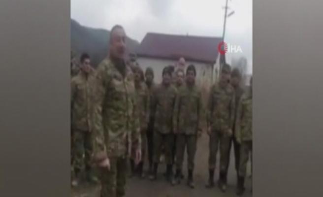 Azerbaycan Cumhurbaşkanı Aliyev'den işgalden kurtarılan Gubadlı'ya ziyaret
