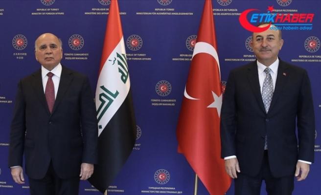 Bakan Çavuşoğlu: Irak'ın PKK'dan tamamen temizlenmesi için Türkiye olarak elimizden gelen desteği vereceğiz