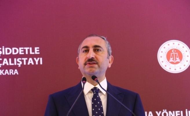 """Bakan Gül: """"Yeni yılda da yargı, milletin yargısı olacaktır"""""""