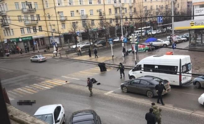 Çeçenistan'da polise saldırı: 1 polis öldü