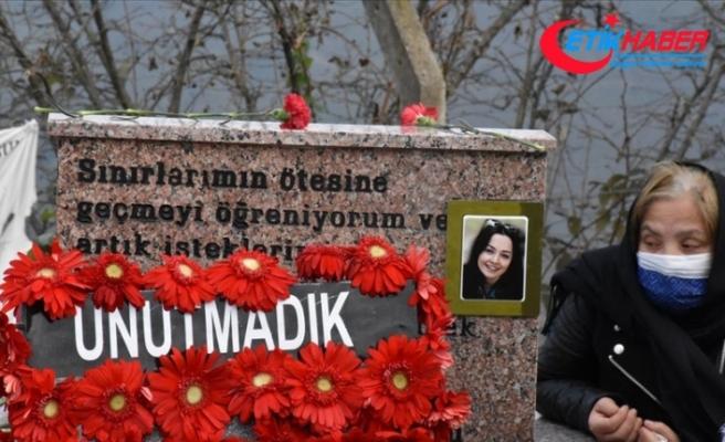 Ceren Özdemir, vefatının birinci yılında kabri başında anıldı