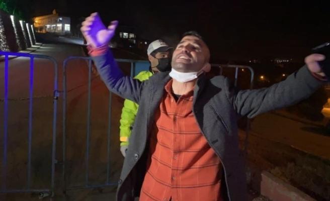 Ceza yiyen alkollü sürücü, 'herkes yanlışını bilecek' dedi, türkü söyleyip oynadı