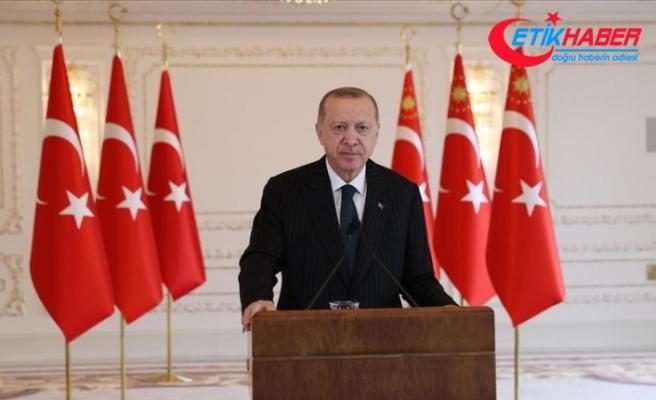 Cumhurbaşkanı Erdoğan: 2021 yılı milletimize söz verdiğimiz gibi demokratik ve ekonomik reformlar yılı olacak
