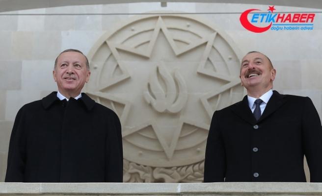 Cumhurbaşkanı Erdoğan: Azerbaycan destan yazmaya devam edecek