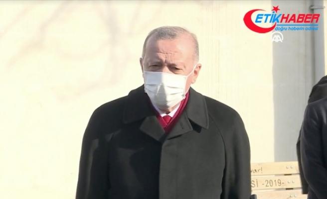 Cumhurbaşkanı Erdoğan: İlk etapta Çin var, aynı zamanda da Almanya var. Bu aşılarla süreci işleteceğiz