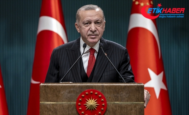 Cumhurbaşkanı Erdoğan: Mavi Vatan'dan siber uzaya kadar her sahada egemenlik haklarımıza sahip çıkacağız