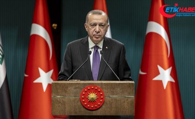 Cumhurbaşkanı Erdoğan: Bölgemiz terörün başını tamamen ezmeden huzura kavuşamayacaktır