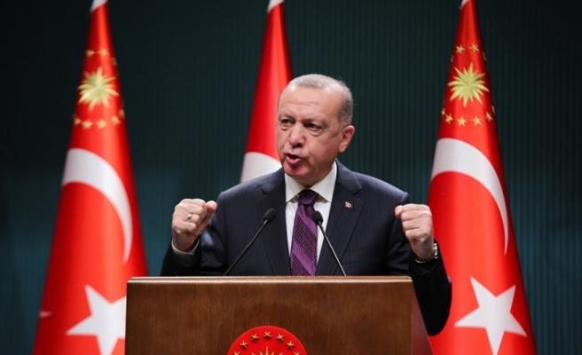"""Cumhurbaşkanı Erdoğan: """"İlk haberleşme uydumuzu 2022'de uzaya gönderiyoruz"""""""