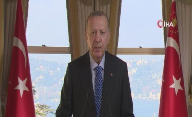"""Cumhurbaşkanı Erdoğan: """"Tüm üretim altyapımızın dijital dönüşümünü hızlandırmamız gerekiyor"""""""