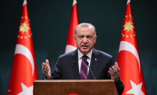 Cumhurbaşkanı Erdoğan: Aşılarda alınan bir mesafe var