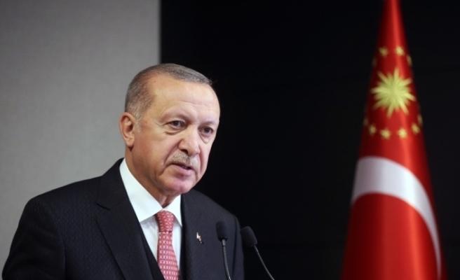 Cumhurbaşkanı Erdoğan: Farklılıklarımızı zenginlik görüp geleceğimizi daha müreffeh şekilde inşa etmeye azmedeceğiz