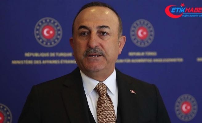 Dışişleri Bakanı Çavuşoğlu: Yaptırım bizim egemenlik haklarımıza saldırıdır