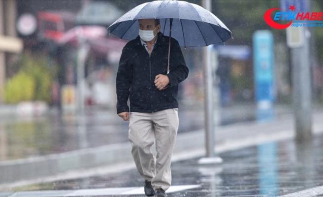 Ege Bölgesi ve Antalya çevresi için kuvvetli yağış uyarısı