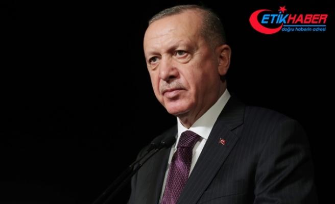 Erdoğan Azerbaycan'da bulunan Mehmetçiğe telefondan hitap etti: Sizin oradaki mevcudiyetiniz onur nişanesidir