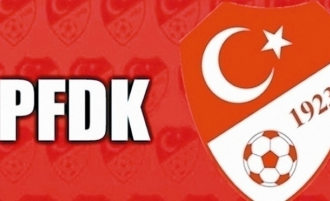 Eskişehirsporlu ve Tuzlasporlu futbolcular, PFDK'ya sevk edildi