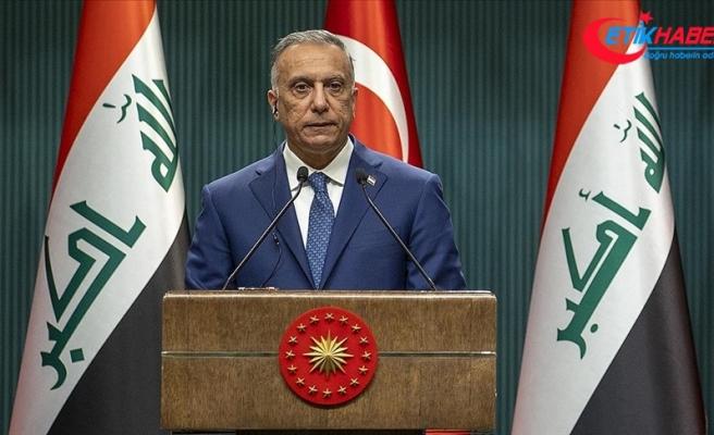 Irak Başbakanı Kazımi: Türkiye'nin güvenliğini tehdit eden hiçbir oluşuma müsamaha göstermemiz mümkün değil