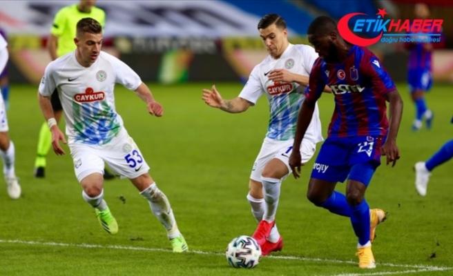 Karadeniz derbisinde kazanan Trabzonspor oldu