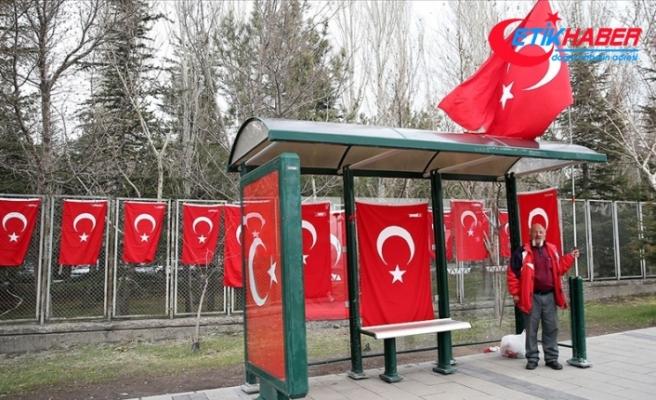 Kayseri'de 15 askerin şehit düştüğü terör saldırısının üzerinden 4 yıl geçti