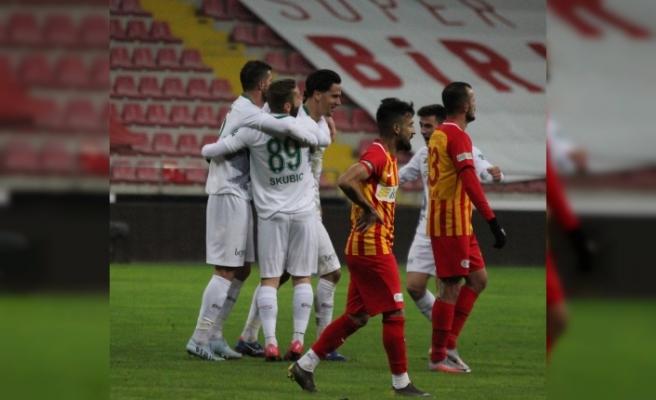 Kayserispor, Konyaspor'a 2-1 mağlup oldu