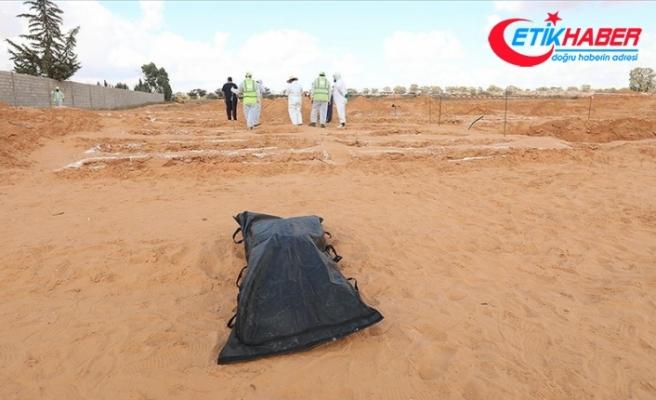 Libya'nın Terhune kentinde iki yeni toplu mezar bulundu