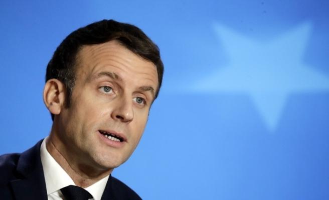 Macron'dan AB-İngiltere ticaret anlaşması açıklaması