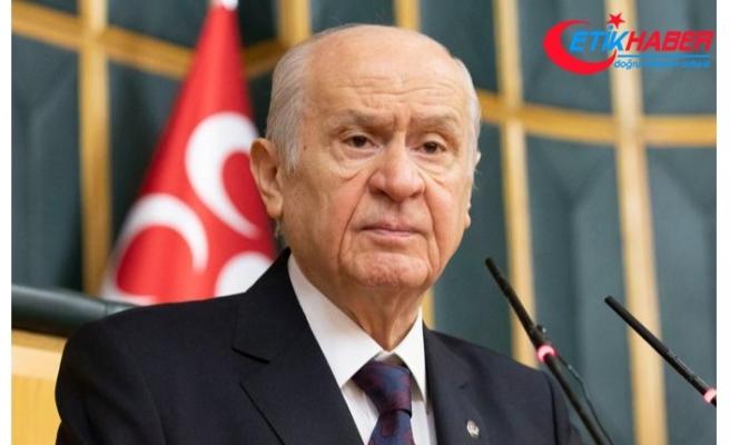 MHP Lideri Bahçeli: Kahraman Türk Silahlı Kuvvetleri'ne zilletin lekesi sürülemez