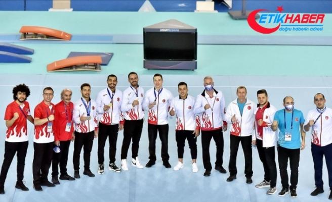 Milli cimnastikçiler, Avrupa Şampiyonası'nda 8 madalya kazandı