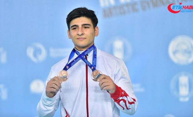 Milli sporculardan Avrupa Erkekler Artistik Cimnastik Şampiyonası'nda 4 madalya