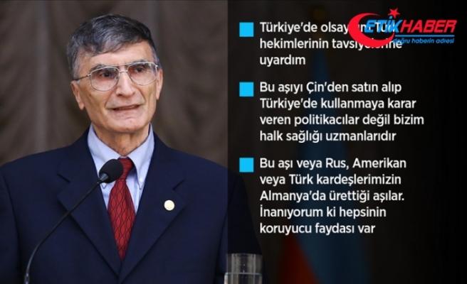Nobel ödüllü bilim insanı Aziz Sancar: Türkiye'de olsam kuyruğa girer aşı yaptırırdım