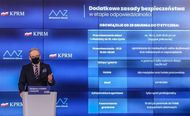 Polonya'da 17 Ocak'a kadar ulusal karantina ilan edildi