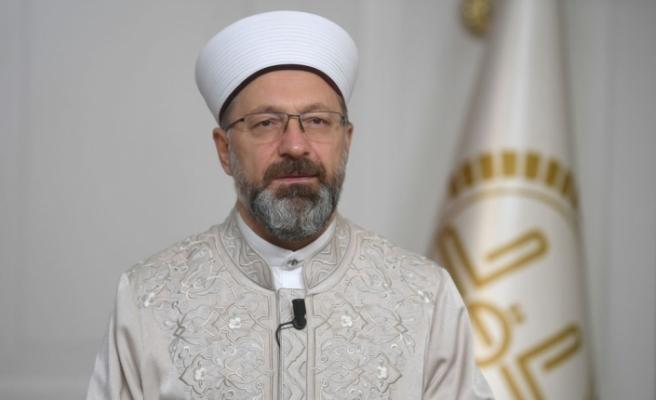 """Prof. Dr. Erbaş: """"Bıkmadan, usanmadan vaaz, irşad ve eğitim faaliyetlerimize devam edelim"""""""