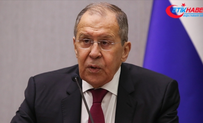 """Rusya Dışişleri Bakanı Lavrov: """"Afganistan'daki askeri ve siyasi durum endişe verici"""""""