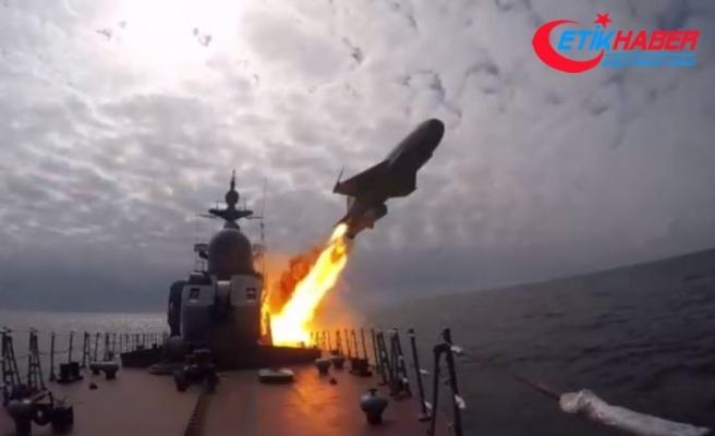 Rusya'dan, Baltık ve Beyaz Deniz'de seyir füzeleri ile tatbikat